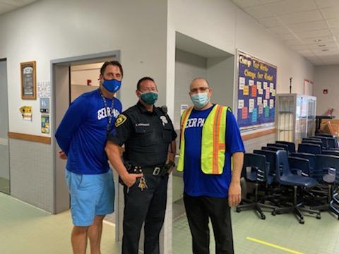 School Resource Visits Geer Park Elementary Today :)